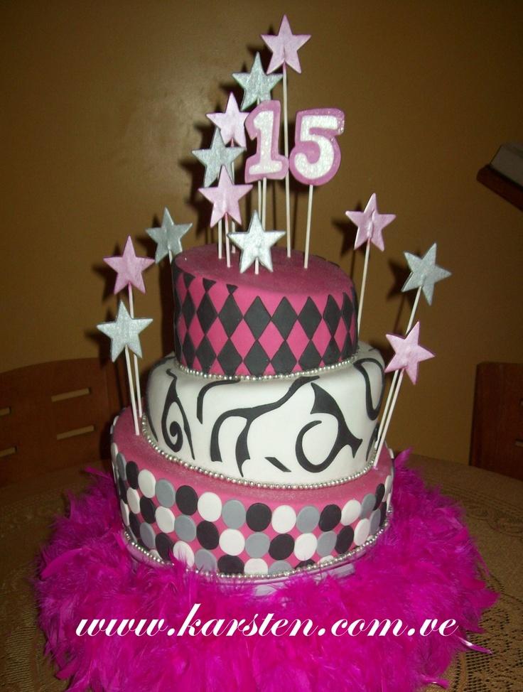 Torta de 15 años