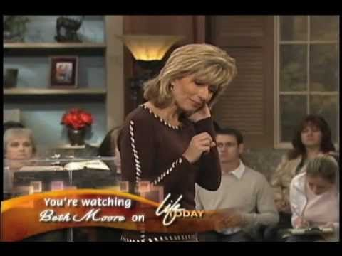 Beth Moore: The Hair Brush.  The Lord told Beth to brush the hair of the old man in the airport with long, matted hair.  Very amazing story, grab a tissue...