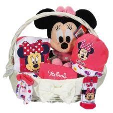 Minnie mouse lisanslı bebek doğum hediyesi