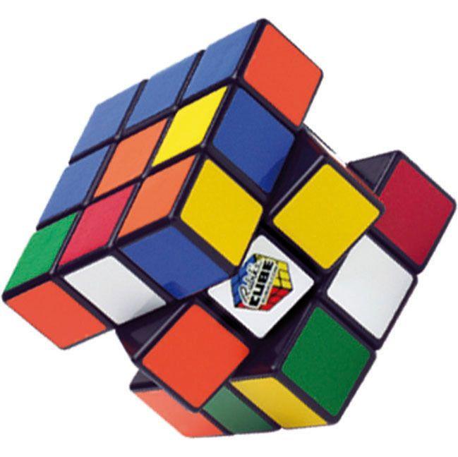 Zauberwürfel Rubik's Cube Offiziell Original 3 x 3 Mit Schachtel Retro Puzzle