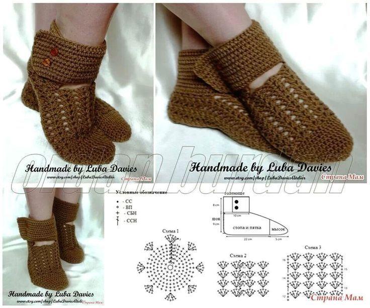 zapatones en crochet google search