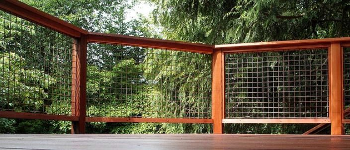 Info on using Welded wire on deck.. Stainless Steel? Deck design and deck building, Lincoln, Nebraska: Welded Wire Panels.
