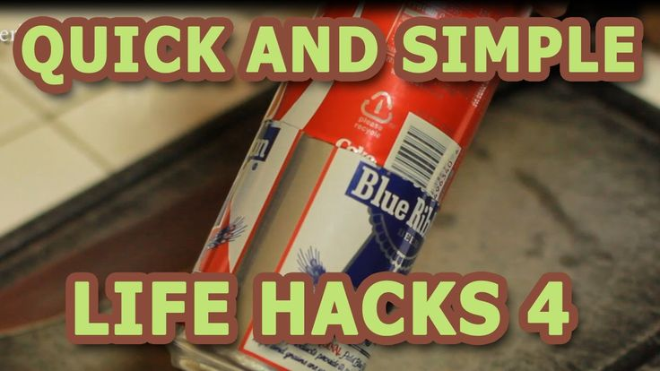 Quick and Simple Life Hacks - Part 4 (+playlist)
