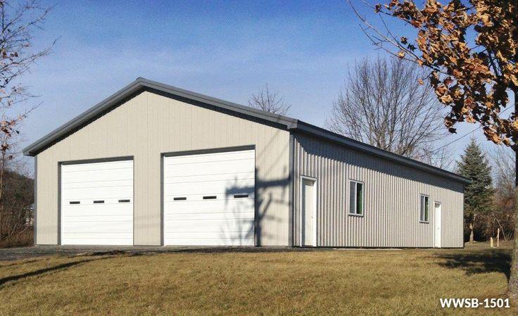 Custom Steel Workshop Kits - Worldwide Steel Buildings