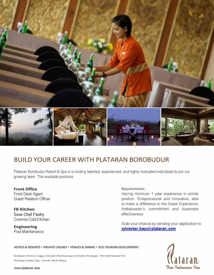 Plataran Indonesia Jobs News November 2017
