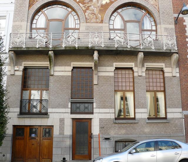Bruxelles art nouveau belgique defacqz h tel Origine du mot maison