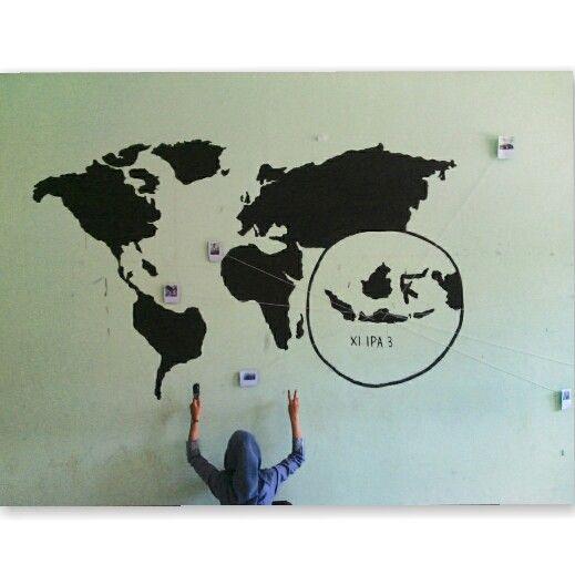 Art,design,world map