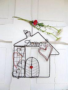 Dekorácie - Tam,kde je domov,býva láska♥... - 5392567_