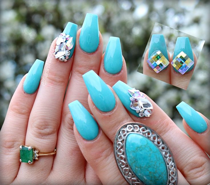 Tiffany Blue Nail Art: 17 Best Ideas About Tiffany Blue Nails On Pinterest