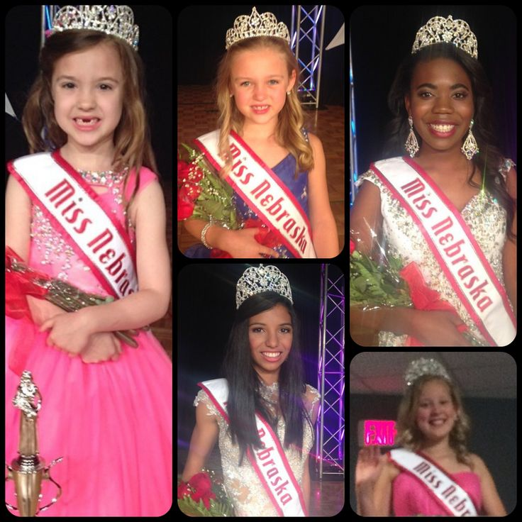 2014 National American Miss Nebraska State Queens