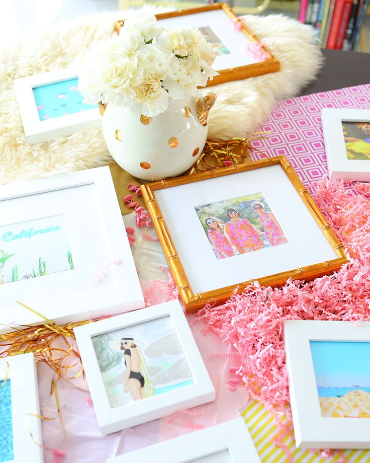 Where To Buy Frames Online: Kelly Golightly shares where to have your photos framed online + these framed Instagram Minis that make a perfect gift.  #framebridge