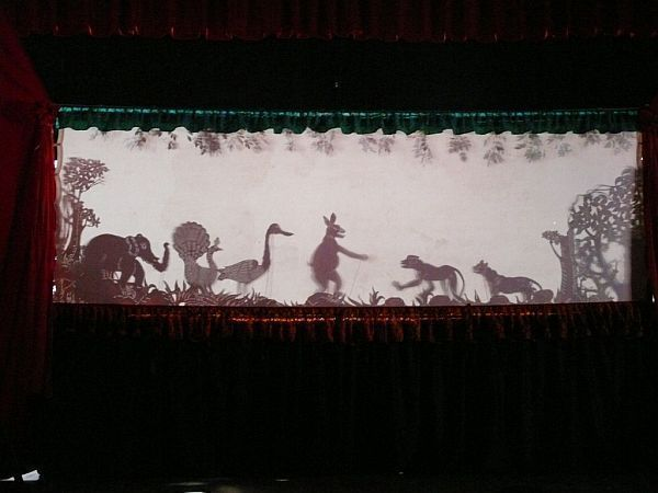 Sovanna Phum, traditional Cambodian shadow puppets