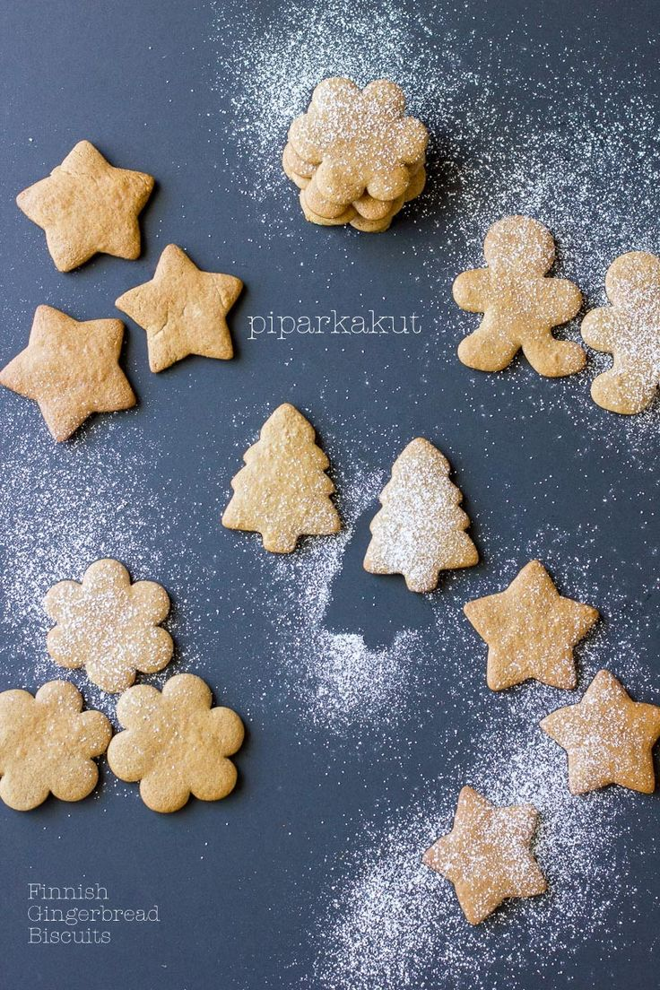 Piparkakut: Finnish Christmas Gingerbread Biscuits » cake crumbs & beach sand