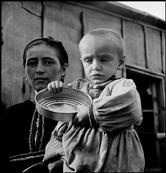 GREECE. 1948. Refugees from the civil war areas. David Seymour