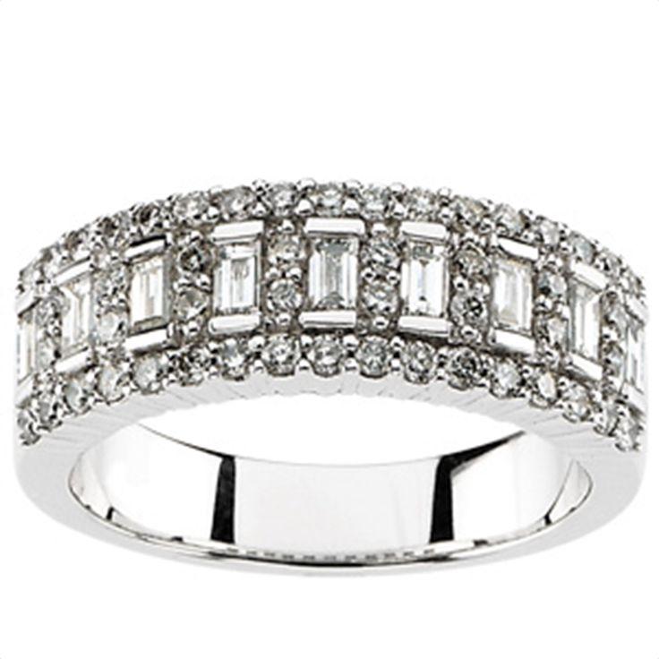 Diamond Anniversary Band - Matthew Erickson Jewelers