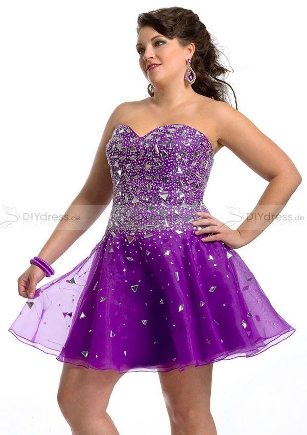19 besten Plus Size Prom Dress&Übergrößene Ballkleider Bilder auf ...