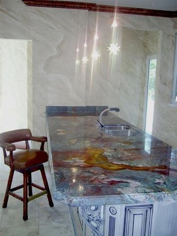 33 Best Images About Vivid Blue Granite Countertops On