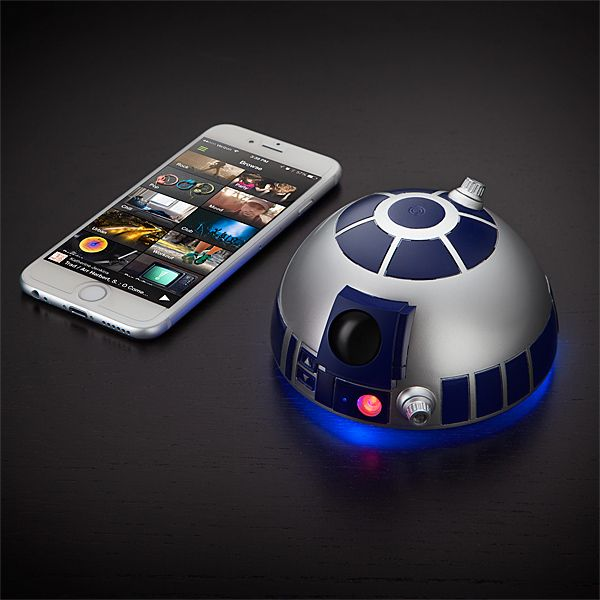 R2-D2 Bluetooth Speakerphone Gets Inspiration From a Galaxy Far Far Away - #bluetooth #r2d2 #speakerphone #starwars