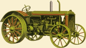 The biggest Allis-Chalmers in the 1920s was the  20/35 with its 461-ci (7.6-liter) engine developing up to 45 horsepower....