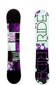 Ride Snowboards, Compact, Purple and Zebra <3 more snowboarding tips @ https://www.facebook.com/Snowboard-Equipment-174997816033563