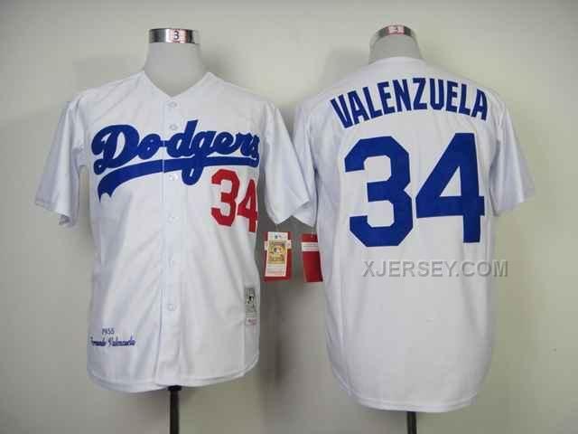 http://www.xjersey.com/dodgers-34-valenzuela-white-throwback-jerseys.html Only$34.00 DODGERS 34 VALENZUELA WHITE THROWBACK JERSEYS Free Shipping!