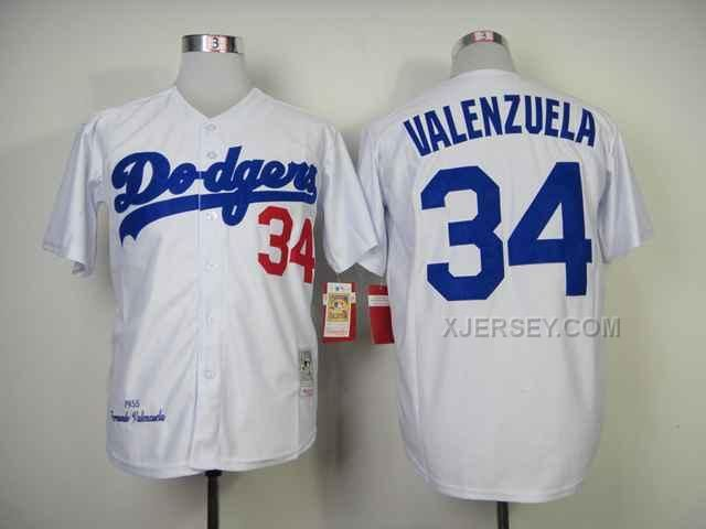 http://www.xjersey.com/dodgers-34-valenzuela-white-throwback-jerseys.html Only$34.00 DODGERS 34 VALENZUELA WHITE THROWBACK JERSEYS Free Shipping!