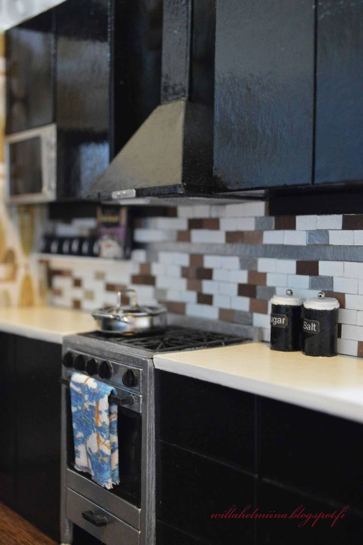 295 best dollhouse kitchen diy images on pinterest miniature