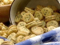 These are so good. Even plain mini ritz crackers w…