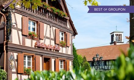 Alsace : 1 ou 2 nuits avec petit déjeuner, menu gastronomique en option, au Relais de la Poste pour 2 personnes