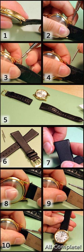 how to make a watch band out of string