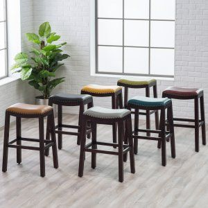 Belham Living Hutton Backless Bar Stool - Get designer-inspired style that you won't find anywhere else but Hayneedle! With the Belham Living Hutton Backless Bar Stool , you have the...
