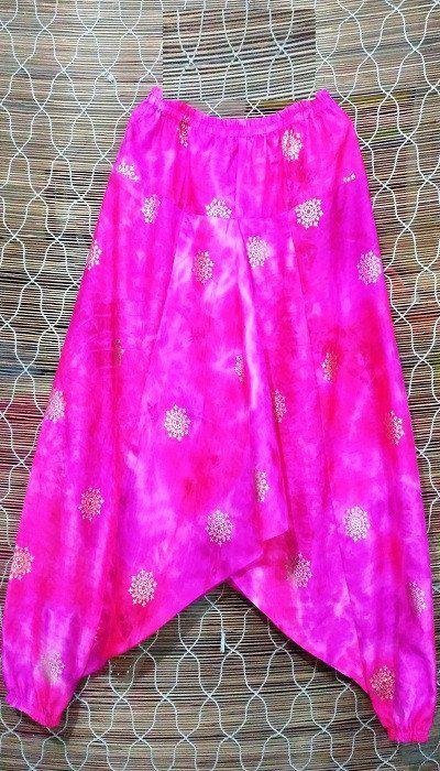 Pink Zing Dhoti
