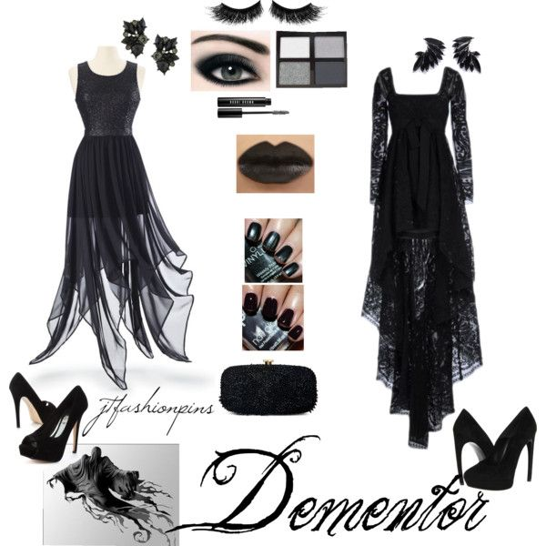 """""""Dementor Themed Outfit"""" by jtfashionpins on Polyvore"""
