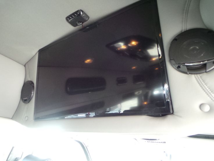 Look At This Great TV Conversion VanLas
