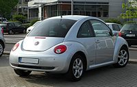 Volkswagen New Beetle coupe facelift
