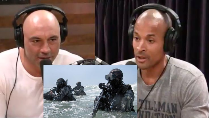 "JOE ROGAN - DAVID GOGGINS on becoming a NAVY SEAL, MOTIVATION | ""You're ..."