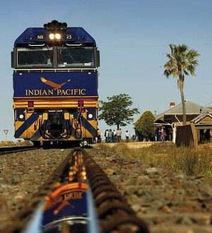 Rolling in luxury - Indian Pacific - Perth - Sydney Australia