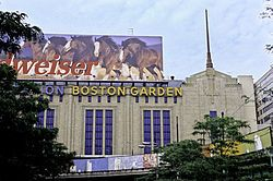 Not the current Boston Garden, but the ORIGINAL Boston Garden, where I spent many a happy evening watching the Celtics and the Bruins.