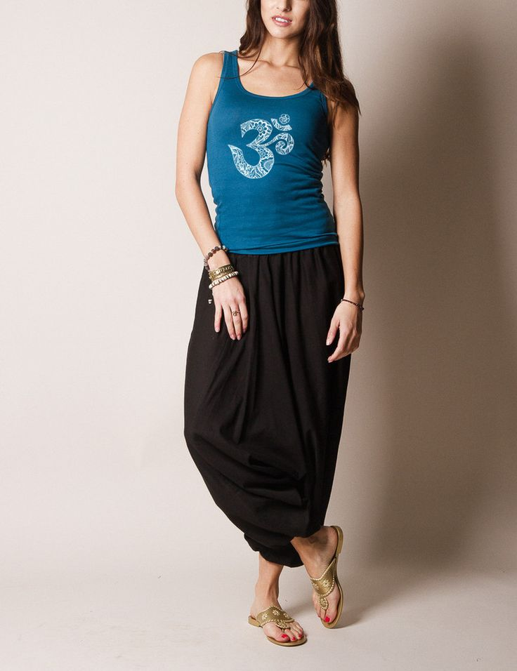 Indian Solid Harem Yoga Pants - Indian Solid Harem Yoga Pants #SivanaWishes