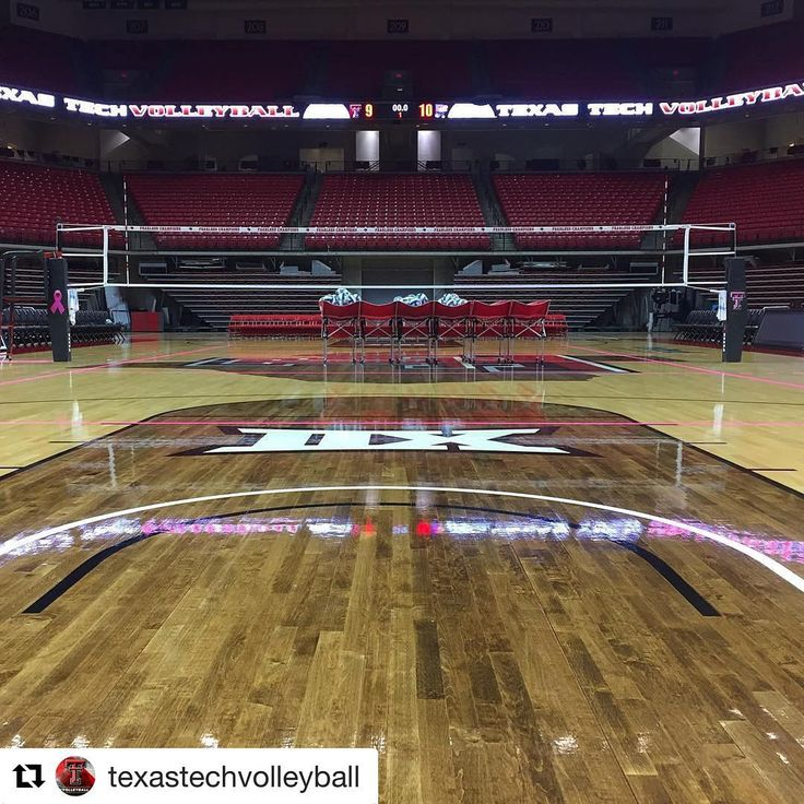 Texas Tech University Volleyball - SI1 Volleyball Poles - #SICarbonNation