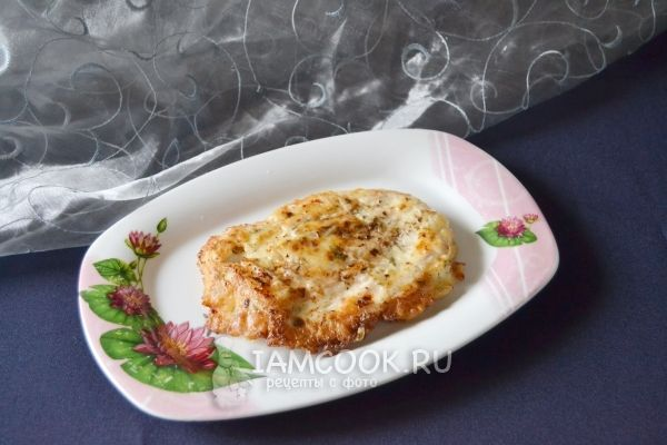 Фото курицы в кляре на сковороде