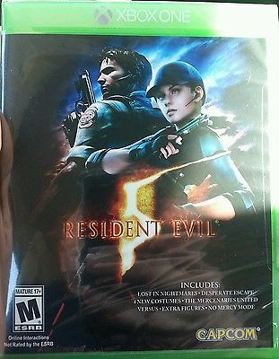 awesome Resident Evil 5 (Microsoft Xbox One 2016) - For Sale View more at http://shipperscentral.com/wp/product/resident-evil-5-microsoft-xbox-one-2016-for-sale/