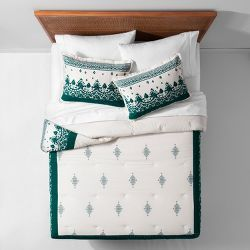 Opalhouse Textured Dot Duvet Cover Set Cream - Opalhouse