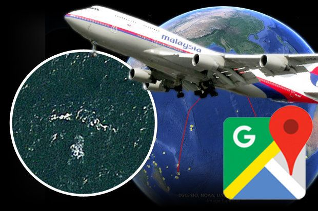 ΒΡΕΘΗΚΕ Η ΠΤΗΣΗ MH370 ΣΤΟ GOOGLE ;