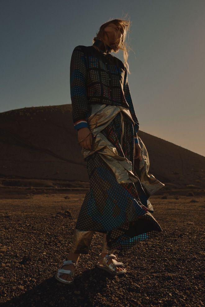 Toni Garrn pour L'Express Styles