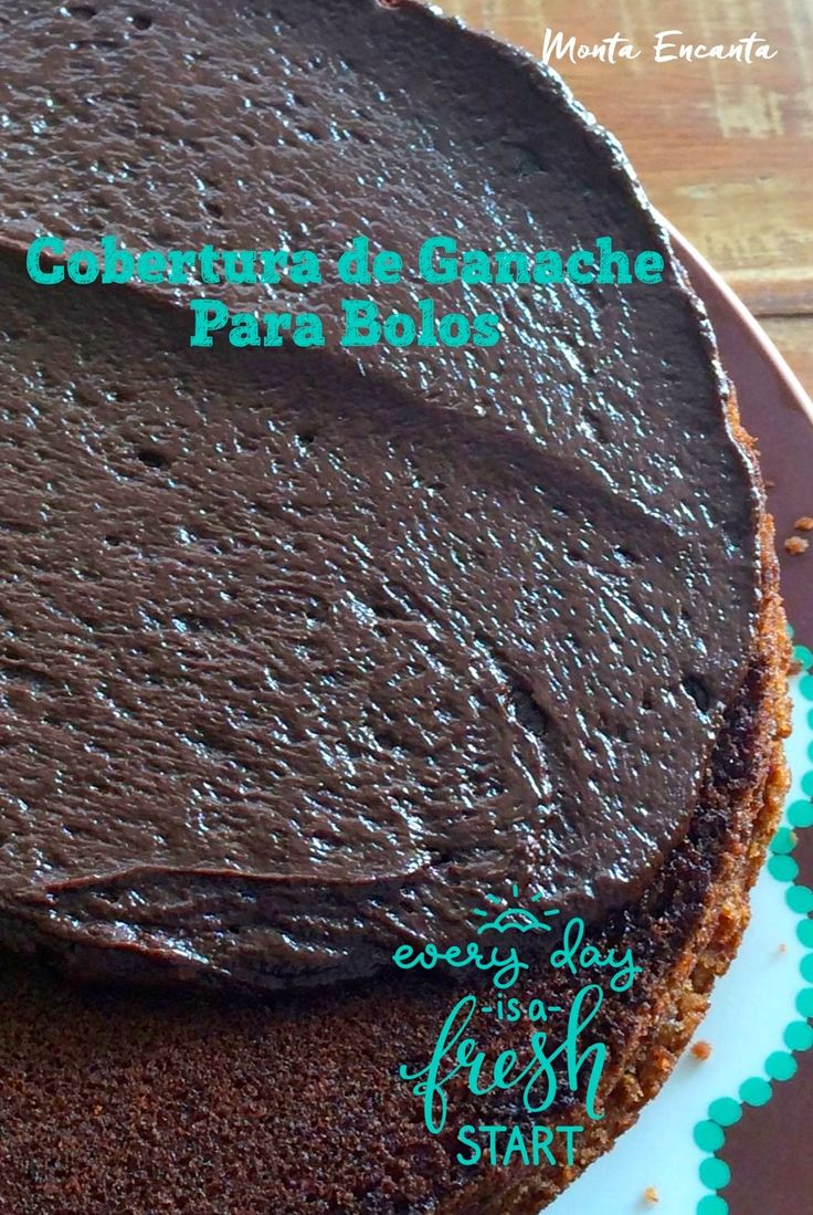 Ganache para cobertura de bolo. Quando falamos em confeitar, enfeitar, decorar um bolo, a cobertura é super importante. Mas é preciso saber combinar a cobertura com o bolo. Existem bolos …