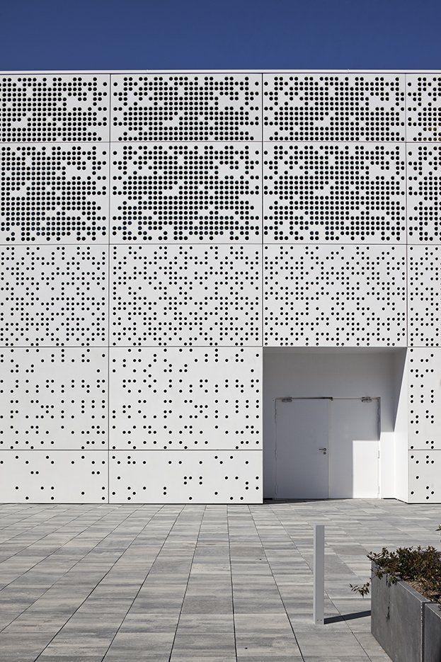 Perforated building - Trend Alert - Perforated Design