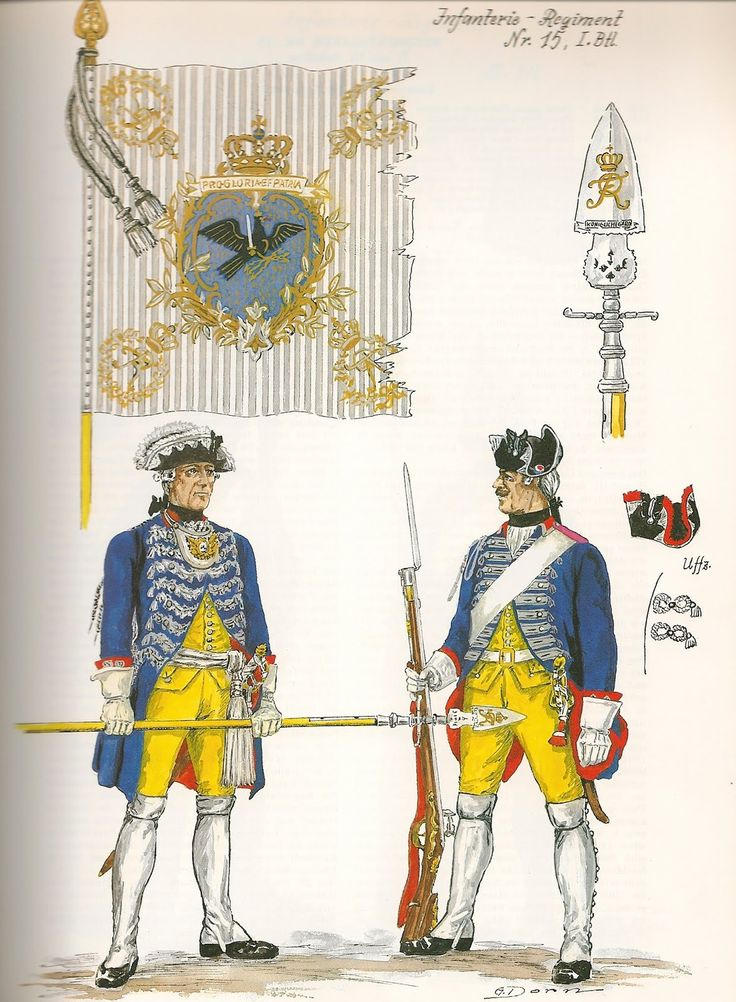 Uniformes Guerre de 7 ans 8b7300b601cf1fc81d0cbb78a51b0aa5--frederick-the-great-german-army