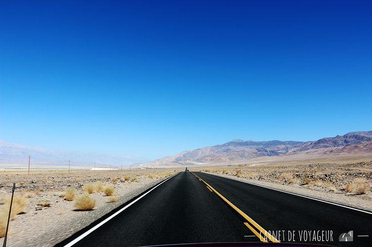 Vallée de la Mort On the road to Death Valley