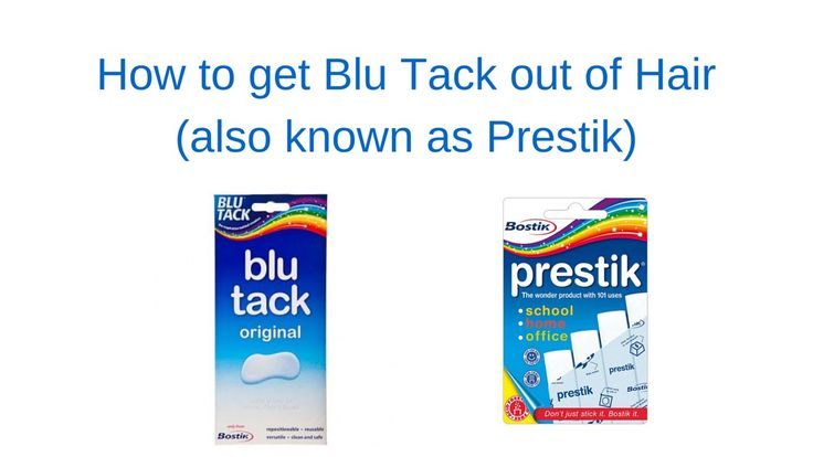 How to get Blu Tack out of hair?   How to get prestik out of hair?   It is really so easy when you know how!   #prestikoutofhair #blutackoutofhair #prestik #blutack #kaboutjie #SAmommyblogger #mommyblogger #lynnehuysamen